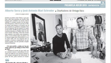 Ibiza and Formentera Newspaper Interview