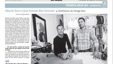 Entrevista Periódico de Ibiza y Formentera