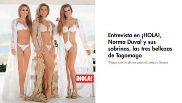 Norma Duval from Vintage Ibiza in Hola Magazine
